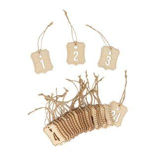 Advent Calendar numbers to hang