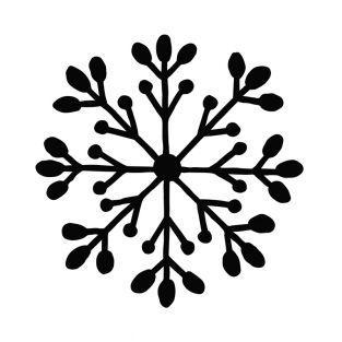 Stanzform Schneeflocke 7,2 x 7,2 cm