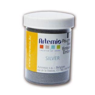Bastelpulver-Silber