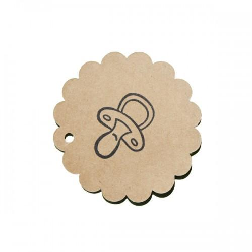 Wooden Stamp - Pacifier