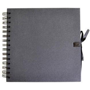 Scrapbooking Buch 30 x 30 cm - schwarz