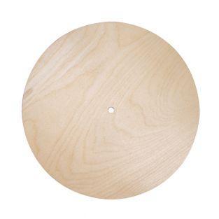 Round wooden plate 25 cm
