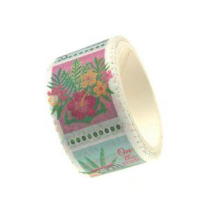 Masking tape verde tropicale