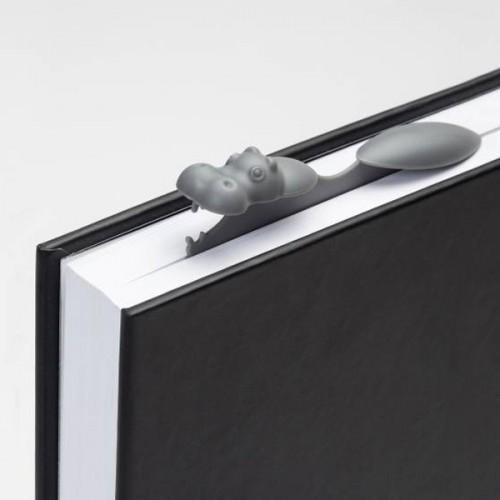 marque page original hippopotame gadget insolite. Black Bedroom Furniture Sets. Home Design Ideas