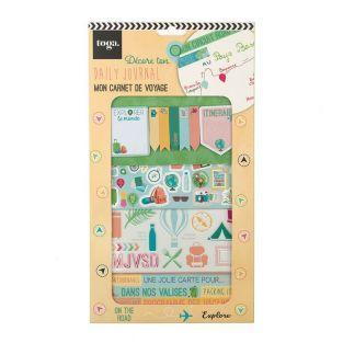Kit decorativo Bullet Journal - Viaggio