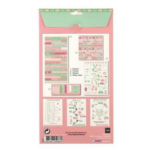 Decoration kit Bullet Journal - Wellness