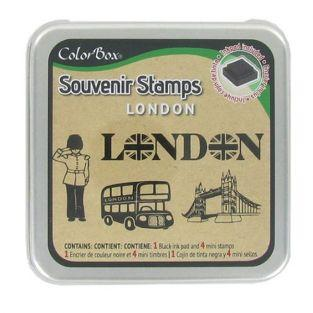Set Stempelkissen + Stempel London
