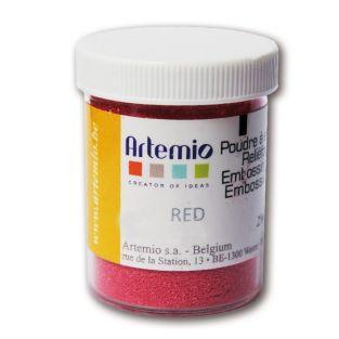 Polvere da goffratura rossa