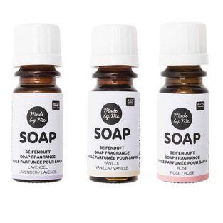 3 huiles parfumées 10 ml pour savon -...