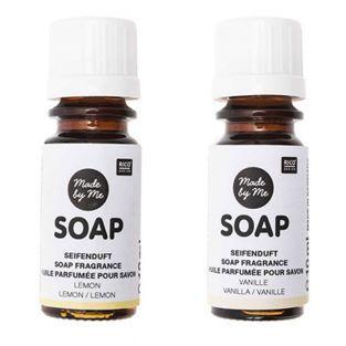 Scented oils for soap lemon, vanilla...
