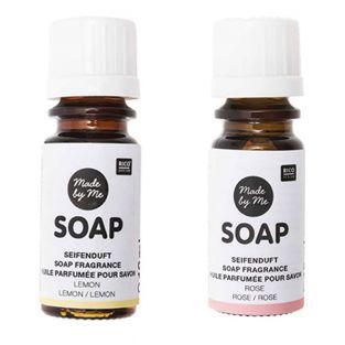 Scented oils for soap Lemon, rose -...