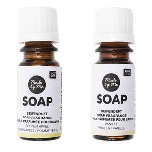 Scented oils for soap apple, vanilla...