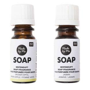 Scented oils for soap apple, jasmine...