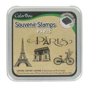 Ink Pads Set Paris