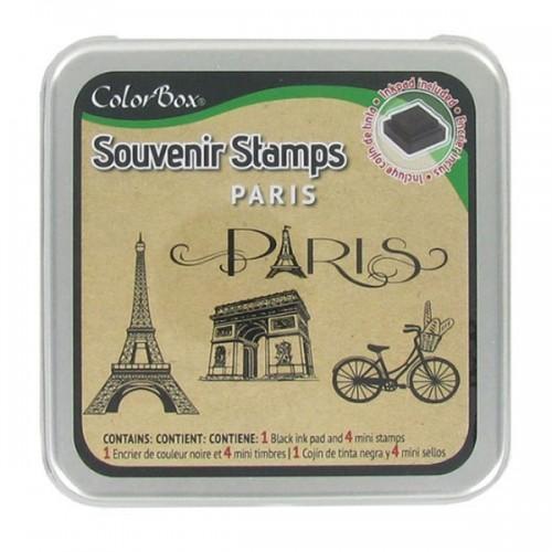 Ink Pads Set Paris