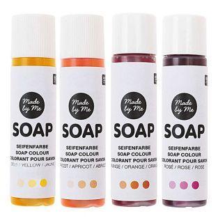 "Soap colouring set ""sunset"" - 4x10 ml"