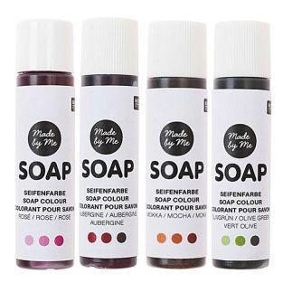 "Soap colouring set ""floral"" - 4x10 ml"