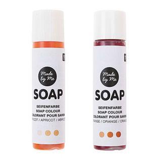 2 colorants pour savon 10 ml - Orange
