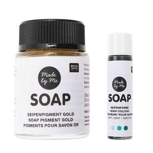 Golden Soap Pigment 20 ml + Soap Dye...