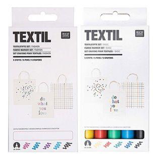 10 feutres textiles - basic & fashion