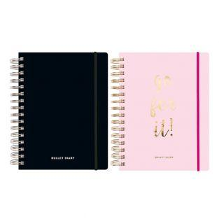 Pack of 2 Special Diaries Spiral Pink...
