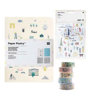 2 A6 squared notepads - World Travel...