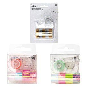 15 mini masking tapes iridescent...