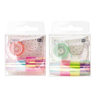 10 mini cintas adhesivas iridiscentes...