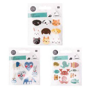 Iron-on badges for children -...