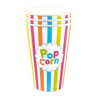 3 Gobelets Pop-Corn 45 cl