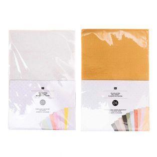 20 Filzblätter 20 x 30 cm - Pastell-...