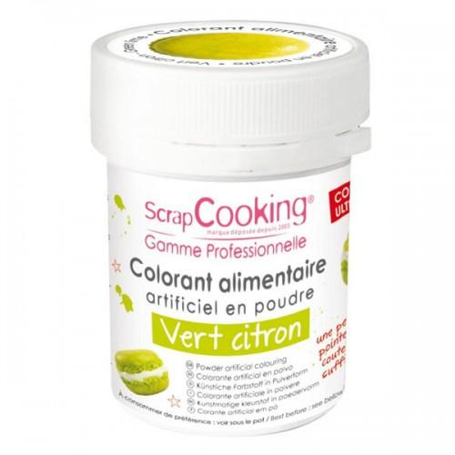 Colorant alimentaire Vert citron