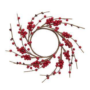 Corona de frutos rojos 12cm