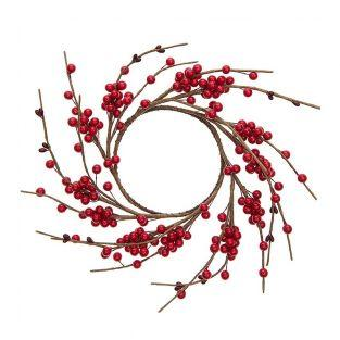 Red berry wreath 12cm