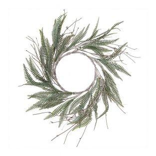 Wreath of ferns 18cm