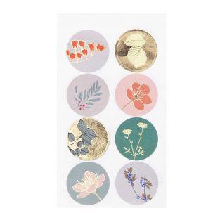 32 plant stickers