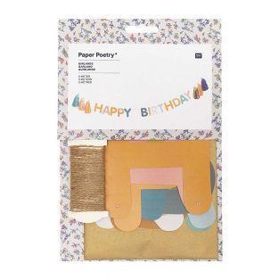 Alles Gute zum Geburtstag Girlande 3m