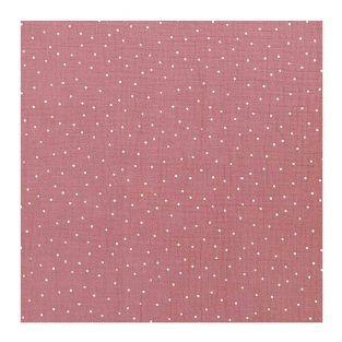 Muselina arrugada rosa viejo 130X50cm
