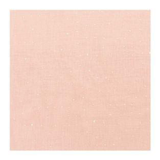 Powder pink crumpled muslin 130X50cm