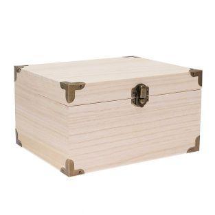 Caja del tesoro con marcos 20X16X11cm