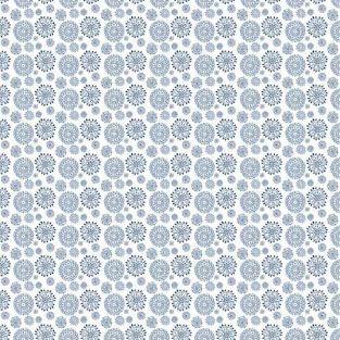 Azurblaues Bastelpapier - Sweet Rosace