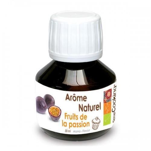 Natural Passion fruit flavor - 50 ml