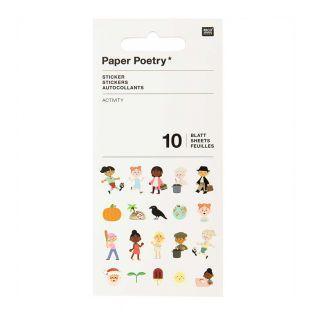 10 activity sticker sheets