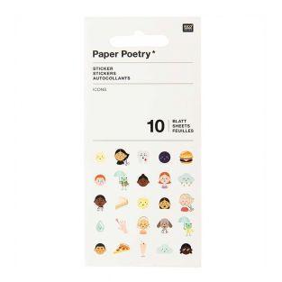 10 icon sticker sheets