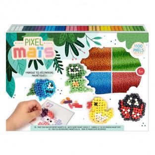 Pixel Corn Box - Magnets decorations