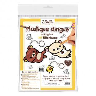 Kit plastique dingue - Porte-clés...