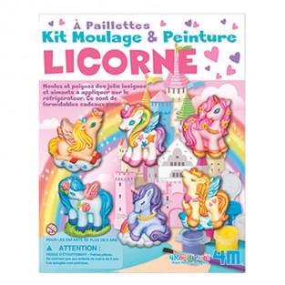 Kit de moulage et peinture - Licorne