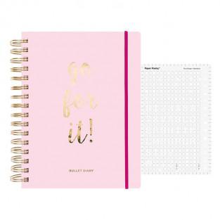 Special pink Agenda Bullet journal...