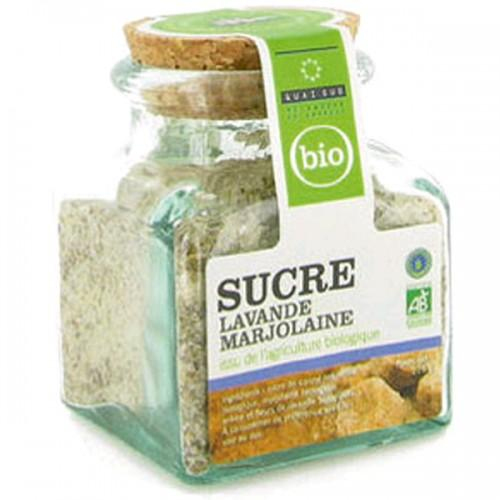 Lavender / Marjoram flavored organic sugar