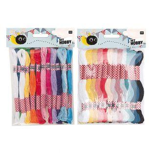 Embroidery Thread Pack - basic & fashion